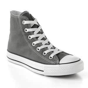 Converse Chuck Taylor hightops women 7 charcoal